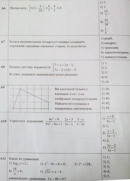 задания цт по русскому языку 2015